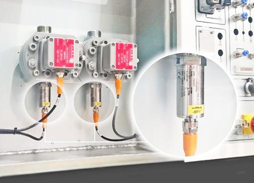 Drucksensoren und Pneumatikzylinder für Dosieranlagen