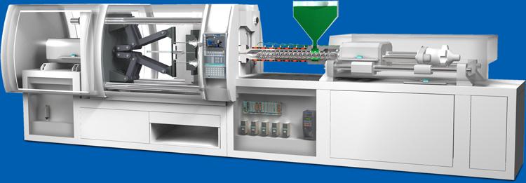 GEFRAN Drucksensoren in ener Spritzgießmaschine